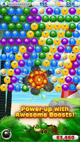 Bubble birds 3 - Symbian game screenshots. Gameplay Bubble birds 3