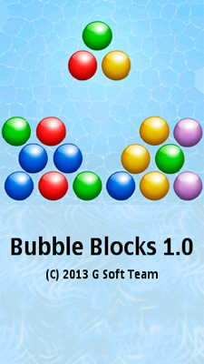 Bubble Blocks - Symbian game screenshots. Gameplay Bubble Blocks