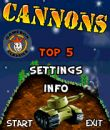 In addition to the sis game Pokemon: Sapphire Version for Symbian phones, you can also download Cannons for free.