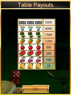 Casino: Slots - Symbian game screenshots. Gameplay Casino: Slots
