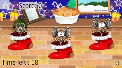 Christmas Mice - Symbian game screenshots. Gameplay Christmas Mice