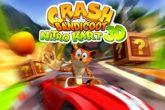 In addition to the sis game Global Race: Raging Thunder for Symbian phones, you can also download Crash bandicoot kart for free.