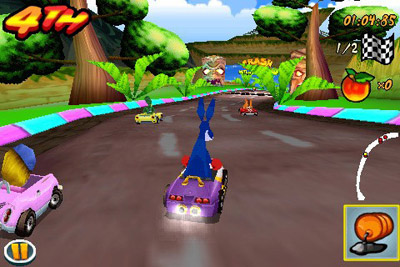 Crash Bandicoot Kart - Symbian game screenshots. Gameplay Crash Bandicoot Kart