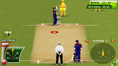 Cricket T20 Fever - Symbian game screenshots. Gameplay Cricket T20 Fever