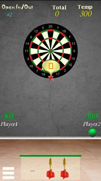 Darts - Symbian game screenshots. Gameplay Darts