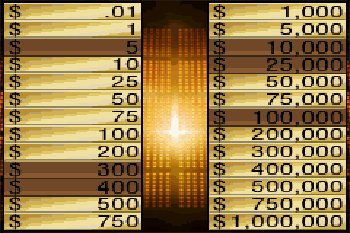 Deal or no deal - Symbian game screenshots. Gameplay Deal or no deal