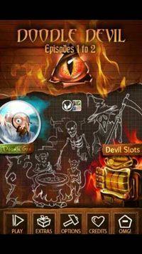 Doodle Devil - Symbian game screenshots. Gameplay Doodle Devil
