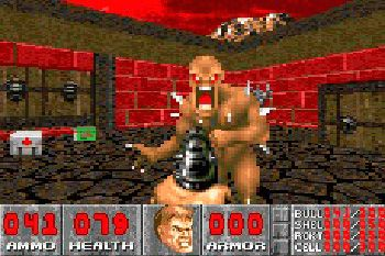 Doom - Symbian game screenshots. Gameplay Doom