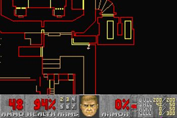 Doom 2 - Symbian game screenshots. Gameplay Doom 2