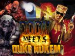 In addition to the sis game Fighters! 3D for Symbian phones, you can also download Doom meets Duke for free.