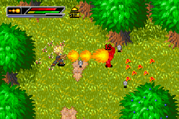 Dragon Ball Z: Buu's Fury - Symbian game screenshots. Gameplay Dragon Ball Z: Buu's Fury