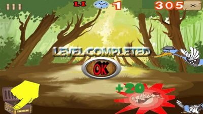 Duck Hunting - Symbian game screenshots. Gameplay Duck Hunting