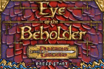 Dungeons & Dragons Eye of the Beholder - Symbian game screenshots. Gameplay Dungeons & Dragons Eye of the Beholder