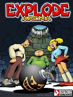 Explode arena - Symbian game screenshots. Gameplay Explode arena