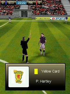 FIFA 08 - Symbian game screenshots. Gameplay FIFA 08