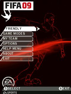 FIFA 2009 - Symbian game screenshots. Gameplay FIFA 2009
