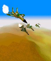 Fighters! 3D - Symbian game screenshots. Gameplay Fighters! 3D