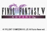 In addition to the sis game Shadow Warrior for Symbian phones, you can also download Final Fantasy V Advance for free.