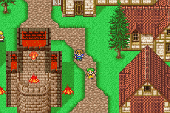 Final Fantasy V Advance - Symbian game screenshots. Gameplay Final Fantasy V Advance