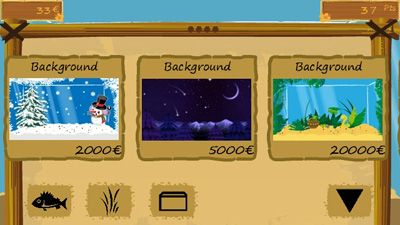 Fish Farm Hawaii - Symbian game screenshots. Gameplay Fish Farm Hawaii