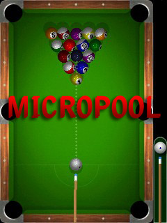 Micro pool - Symbian game screenshots. Gameplay Micro pool
