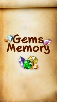 Gems memory - Symbian game screenshots. Gameplay Gems memory