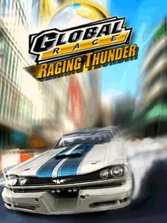 Global Race: Raging Thunder - Symbian game screenshots. Gameplay Global Race: Raging Thunder