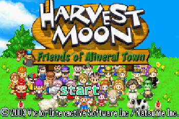 Harvest Moon Friends of Mineral Town - Symbian game screenshots. Gameplay Harvest Moon Friends of Mineral Town