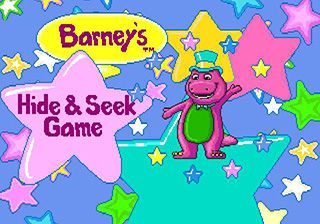 Barney's hide & seek game - Symbian game screenshots. Gameplay Barney's hide & seek game