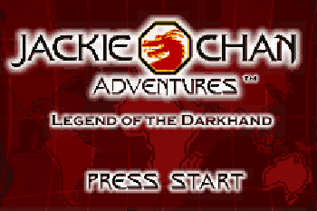 Jackie Chan Adventures: Legend of the Dark hand download free Symbian game. Daily updates with the best sis games.