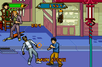 Jackie Chan Adventures: Legend of the Dark hand - Symbian game screenshots. Gameplay Jackie Chan Adventures: Legend of the Dark hand