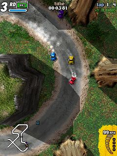 K-Rally - Symbian game screenshots. Gameplay K-Rally