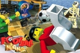 In addition to the sis game Asphalt 3: Street Rules 3D for Symbian phones, you can also download LEGO Football mania for free.