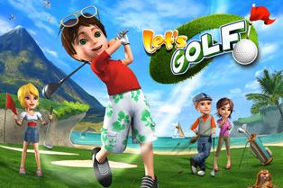 Let's Golf HD - Symbian game screenshots. Gameplay Let's Golf HD