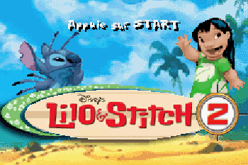 Lilo & Stitch 2 - Symbian game screenshots. Gameplay Lilo & Stitch 2