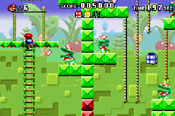 Mario vs. Donkey Kong - Symbian game screenshots. Gameplay Mario vs. Donkey Kong