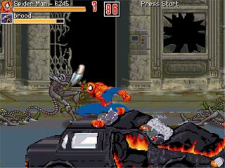 Marvel Super Heroes - Symbian game screenshots. Gameplay Marvel Super Heroes