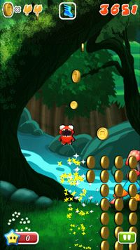 Mega Jump - Symbian game screenshots. Gameplay Mega Jump