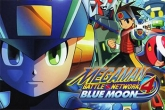 In addition to the sis game Mega Jump for Symbian phones, you can also download Megaman: Battle network. 4 Blue moon for free.