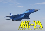 In addition to the sis game Driver 3 for Symbian phones, you can also download Mig-29: Fighter pilot for free.