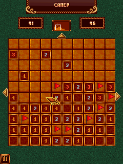 Minesweeper, free fell, klondike & spider solitaire (4 in 1) - Symbian game screenshots. Gameplay Minesweeper, free fell, klondike & spider solitaire (4 in 1)