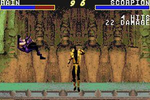 Mortal Kombat Advance - Symbian game screenshots. Gameplay Mortal Kombat Advance