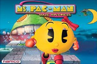 Ms. Pac-Man Maze Madness - Symbian game screenshots. Gameplay Ms. Pac-Man Maze Madness