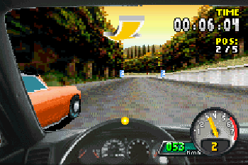 Need for Speed: Porsche Unleashed - Symbian game screenshots. Gameplay Need for Speed: Porsche Unleashed