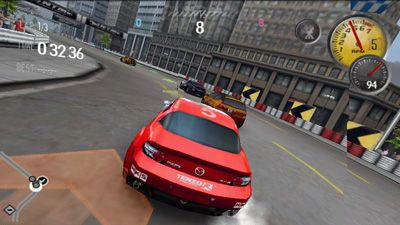 Need for speed: Shift HD - Symbian game screenshots. Gameplay Need for speed: Shift HD