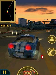 Need For Speed Undercover - Symbian game screenshots. Gameplay Need For Speed Undercover