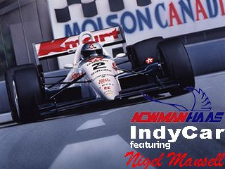 Newman/Haas IndyCar featuring Nigel Mansell download free Symbian game. Daily updates with the best sis games.