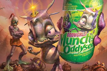 Oddworld: Munchs Oddysee download free Symbian game. Daily updates with the best sis games.
