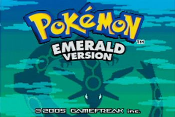 Pokemon: Emerald Version - Symbian game screenshots. Gameplay Pokemon: Emerald Version