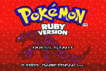 Pokemon: Ruby Version - Symbian game screenshots. Gameplay Pokemon: Ruby Version